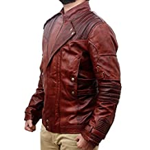 Deadpool Ryan Reynolds Wade Wilson Men's Black and Maroon Motorcycle Leather Jacket