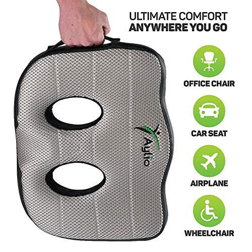 Socket Seat Memory Foam Sit Bone Relief Cushion For Butt Lower
