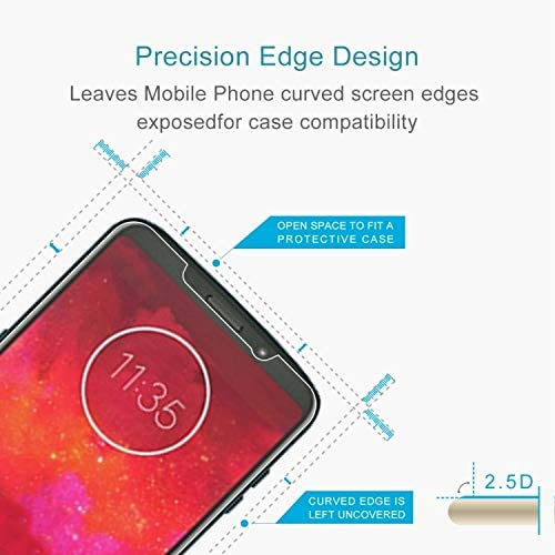 50 PCS 0.26mm 9H 2.5D Tempered Glass Film for Motorola Moto Z3 Play Clear YINZHI Screen Protector Film