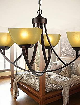 qiuxi High-end fashion Interior Ceiling lamp Chandeliers 4 Lights Traditional/Classic / Vintage Living Room / Bedroom / Dining Room / Study Room/Office Metal , 110-120v