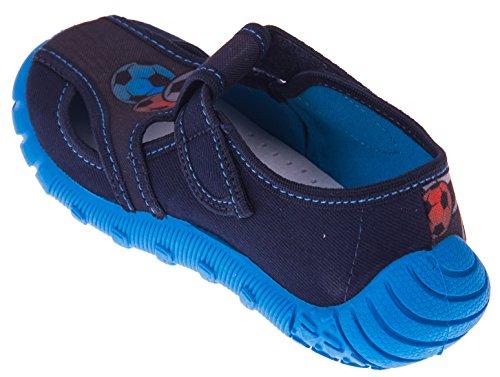 Viggami Zapatillas de estar Por casa Para Niño Blau/Bälle