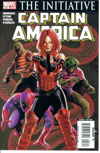 Download Captain America #28 : Death of the Dream Part Four (The Initiative - Marvel Comics) ebook