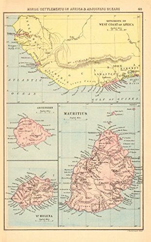 Amazoncom BRITISH AFRICAN COLONIES West Africa Ascension St