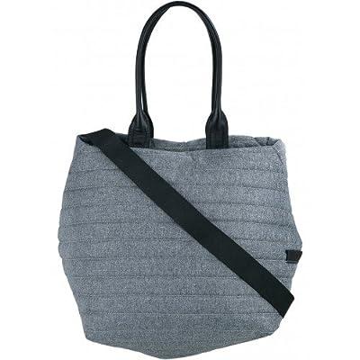 Cote&Ciel Kalix Medium Quilted Eco Yarn Tote Bag - Cloud Grey