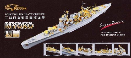 1/350 Japan Navy heavy cruiser For Myoko detail up set ()