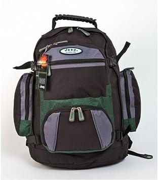 JEEP Nebraska Backpack Rucksack Laptop Bag PH907 (green)