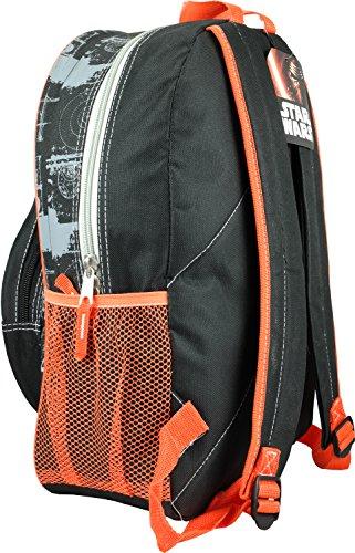 Star Wars Luggage Star Wars BB8 Blueprint Backpack, Orange, One Size 4f81583ed2
