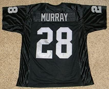 wholesale dealer 2b887 45a8f Autographed Latavius Murray Jersey - #29 Black - JSA ...