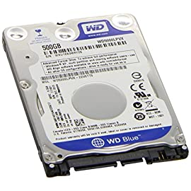 "Western Digital 500GB 2.5"" Playstation 3/Playstation 4 Hard Drive (PS3 Fat, PS3 Slim, PS3 Super Slim, PS4) 21 Works with any PS3/PS4 Model Capacity: 500GB Not Necessarily Same Model as Pictured"