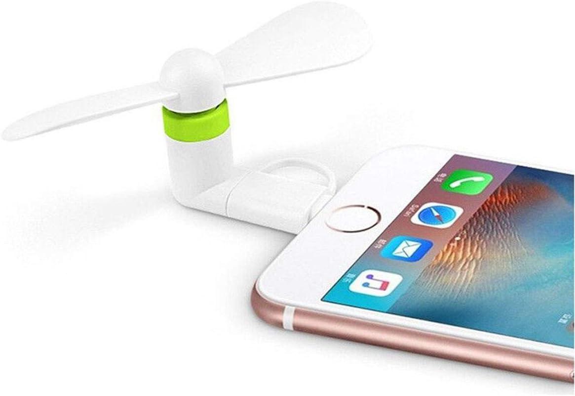Mini ventilador de teléfono celular – colorido y potente 2