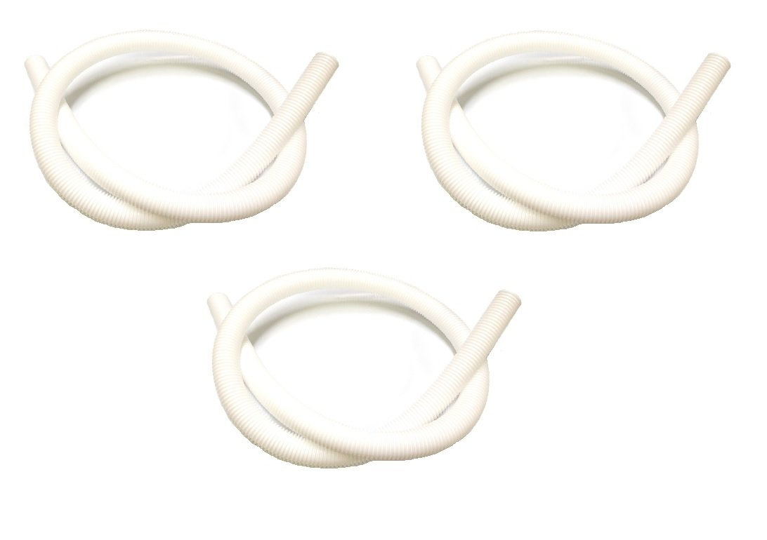 3 Pack Pool Cleaner 6-Ft Cuffless Feed Hose Replacement For Polaris 360 Cleaner 9-100-3102 Southeastern