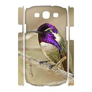 HOPPYS Hummingbird Customized Hard 3D Case For Samsung Galaxy S3 I9300