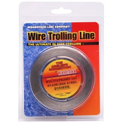 Woodstock 1×7 Stainless Steel Fishing Wire, 600Feet/170-Pounds (.034 DIA), Brown Camo Review