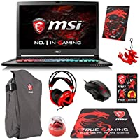 MSI GS73VR STEALTH PRO-033 (i7-7700HQ, 32GB RAM, 1TB SATA SSD + 1TB HDD, NVIDIA GTX 1070 8GB, 17.3 Full HD, 120Hz, Windows 10 Pro) VR Ready Gaming Notebook