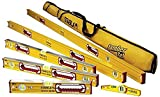 Stabila 196 Level Set Kit - 78''/48''/32''/24''/16'' Torpedo & Case