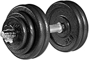 arteesol Adjustable Weight Dumbbell 20/30/40 Pounds for Weightlifting Body Building Workout Exercise Strength