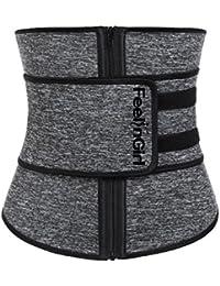 16b1ce9d9e9 Women Hot Sweat Neoprene Waist Trainer Corset Trimmer Belt Body Shaper  Slimming