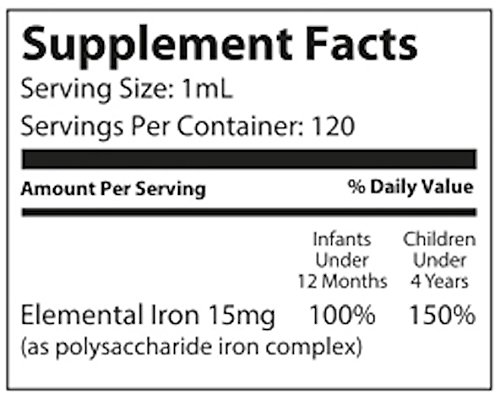 NovaFerrum Iron Supplement for and 120