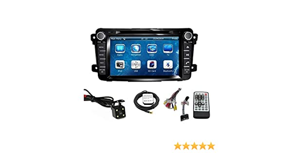 Amazon.com: Car GPS Navigation System for MAZDA CX-9 2007 2008 2009 2010 2011 2012 2013 2014 2015 Double Din Car Stereo DVD Player 7 Inch Touch Screen TFT ...