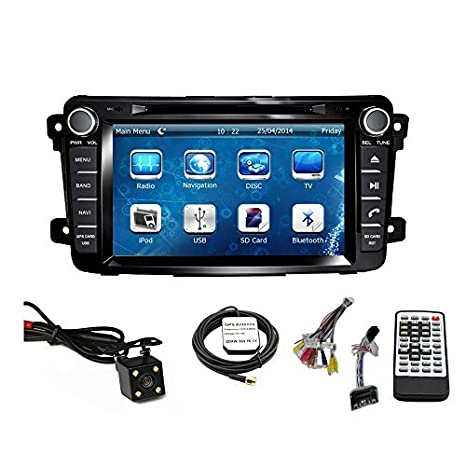 Car GPS Navigation System for MAZDA CX-9 2007 2008 2009 2010 2011 2012 2013 2014 2015 Double Din Car Stereo DVD Player 7 Inch Touch Screen TFT LCD Monitor ...