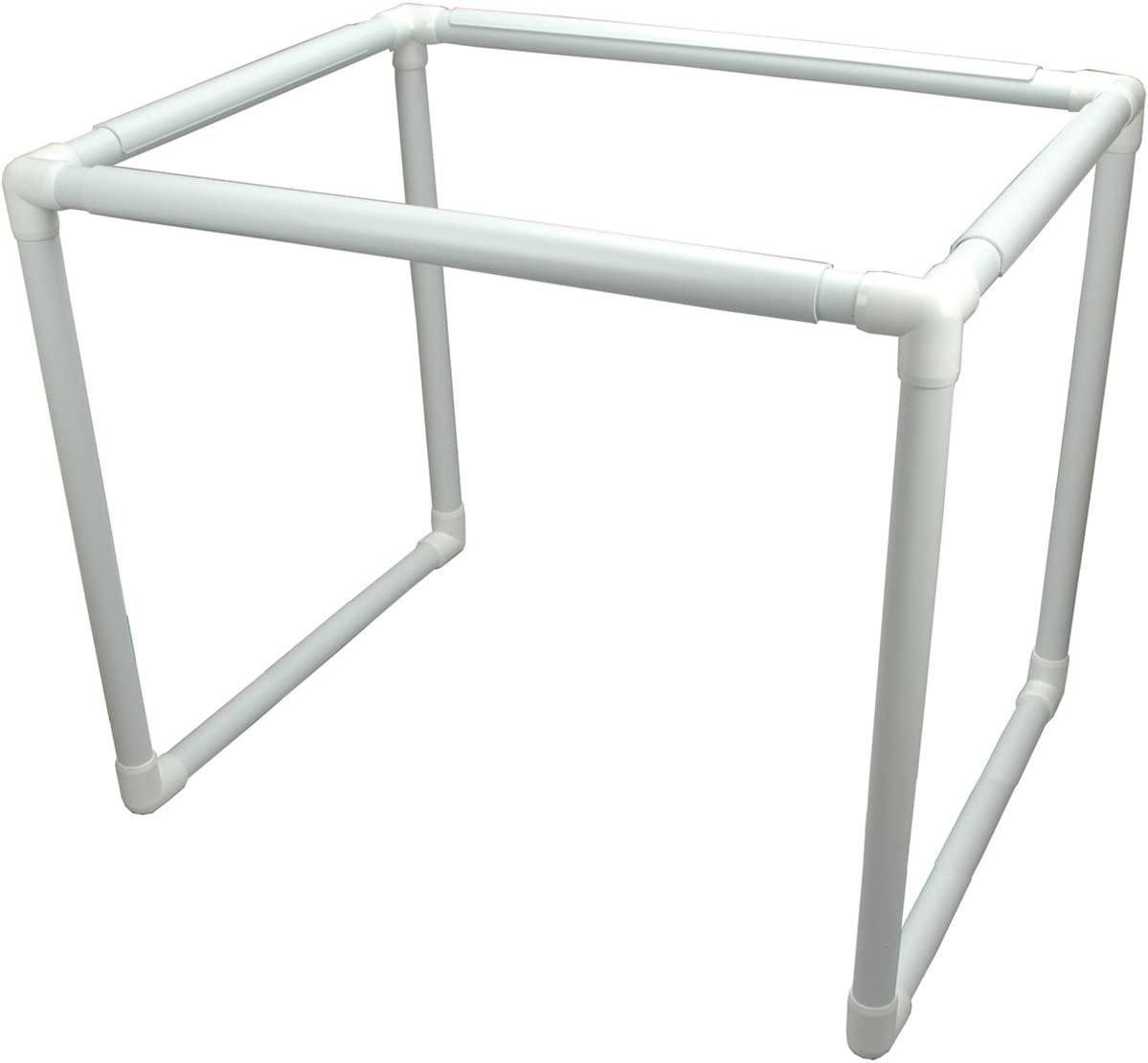 B0006V1XHW Q-Snap Floor Frame, White 51k4aQXZh9L.SL1200_