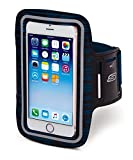 Skechers Sport XL Reflective Smartphone Holder with Touch Screen Operation, Blue