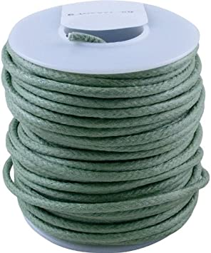 Vintage Style Cloth Wire 22 awg Solid 50/' Spool Yellow