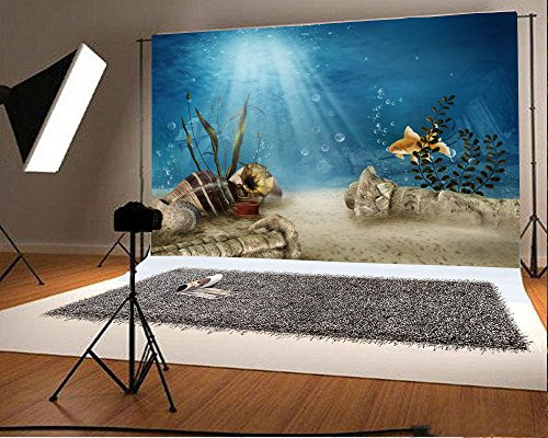 Review OFILA Underwater Backdrop 5x3ft