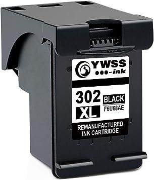 YWSS Remanufacturado Cartucho de Tinta para HP 302 XL HP 302 Alto ...
