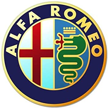 Amazon.com: ALFA ROMEO Italiano a.l.f.a Car Styling Vynil ...