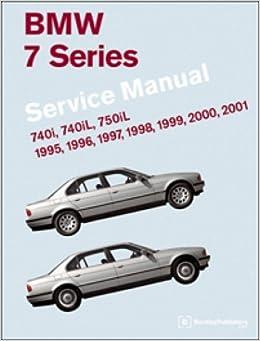 b701 bmw 7 series e38 service manual 1995-2001: by publisher: amazon.com:  books  amazon.com