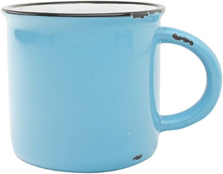 Canvas Home Tinware Mug, Teal- Pack of 4