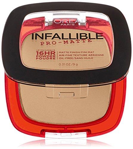 L'Oreal Paris Cosmetics Infallible Pro-Matte Powder, Natural Beige, 0.31 Ounce