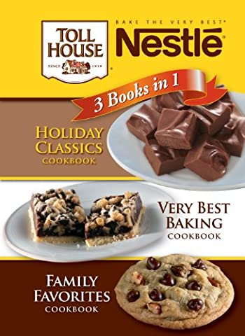 Nestle Chocolate 3 Cookbooks in 1 - Chocolate Chip Boxed