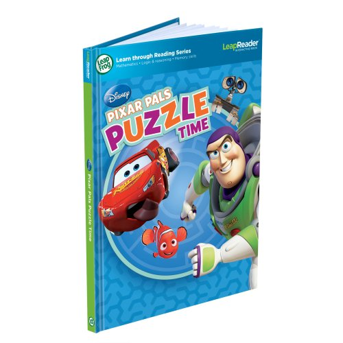 LeapFrog Tag Game Book: Pixar Pals Puzzle Time