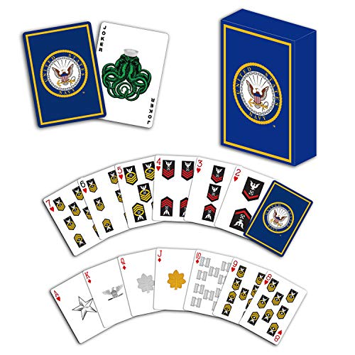 (USN Professional Quality Navy Playing Cards )