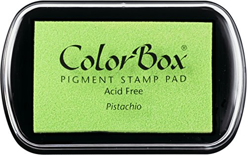 Light Green Ink - ColorBox Classic Pigment Ink Pad, Full Size, Pistachio