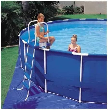 Intex - Escalera para Piscina de 122 cm con Plataforma Superior (Color Puede Variar): Amazon.es: Jardín