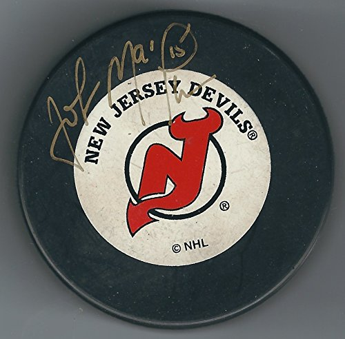 autographed-john-maclean-new-jersey-devils-hockey-puck