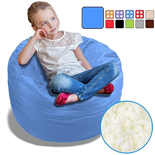 Furniture Yuewo Bean Bag Chair Cover Chair Accessories Oxford Without Bean Filling Multiple Colors