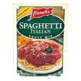 French's Italian Spaghetti Sauce Mix, 1.25-Ounce Packets (Pack of 24)
