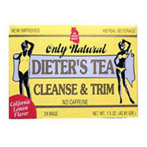 - ONLY NATURAL - Dieters Cleansing Tea Lemon 24 bag