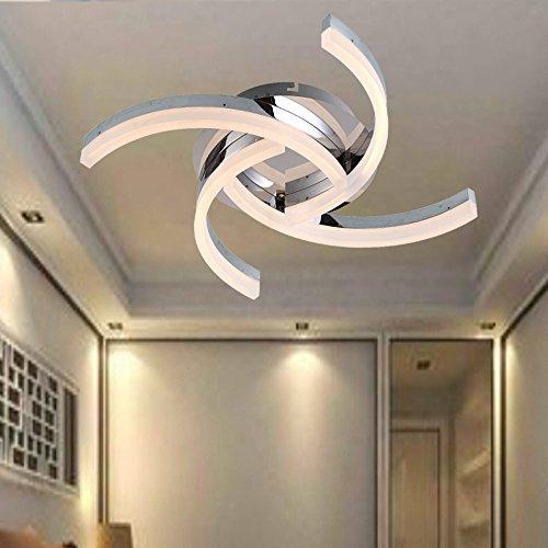 Stylehome 48W LED Deckenleuchte Wandleuchte Küchenleuchte 5836-04A Warmweiss