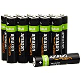 AmazonBasics AAA NiMH Precharged Rechargeable Batteries (12-Pack, 800 mAh)