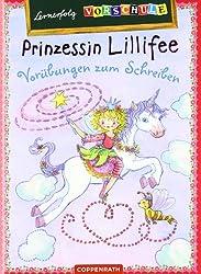 Lernerfolg Vorschule: Prinzessin Lillifee - Vorübungen zum Schreiben: (Verkaufseinheit)