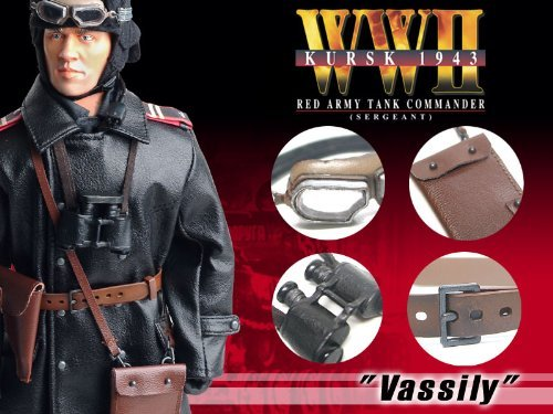 WW2 Kursk 1943 #70210 Sergeant Vassily Red Army Tank Commander 12 1//6 Scale Action Figure by Dragon Models