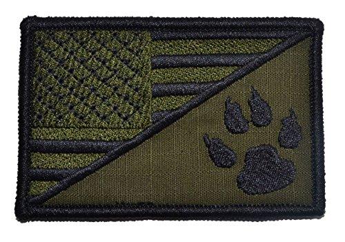 Scout Emblem 2.25x3.5 Morale Patch - Olive Drab (OD) (Emblem Olive Drab)