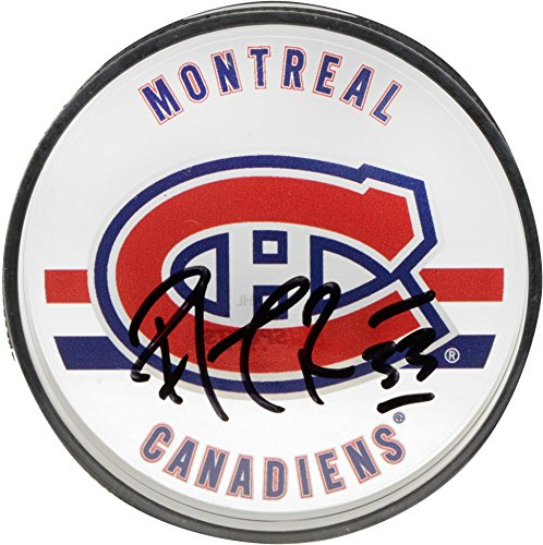 (Patrick Roy Montreal Canadiens Autographed Acrylic Hockey Puck - Upper Deck - Fanatics Authentic Certified)