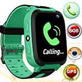 Cheap Kids Smart Watch Smart Wrist Watch Phone with 3-12 Year Old GPS Tracker SOS Sim Card Slot Camera Game Touch Screen Smartwatch Outdoor Educational Toys Back to School for Boys Girls Kids Birthday Gift