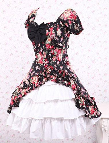 M4U Cabbage Patch Short Sleeves Cotton Classic Lolita Dress